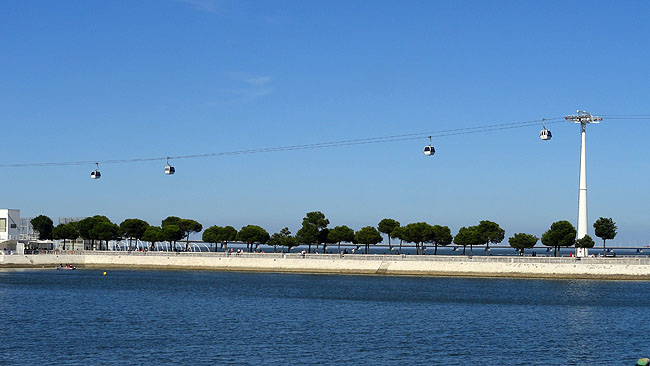 Parque das Nacoes Lisboa Teleferico