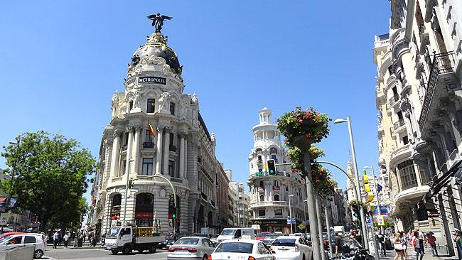 Gran Via Edificio Metropolis