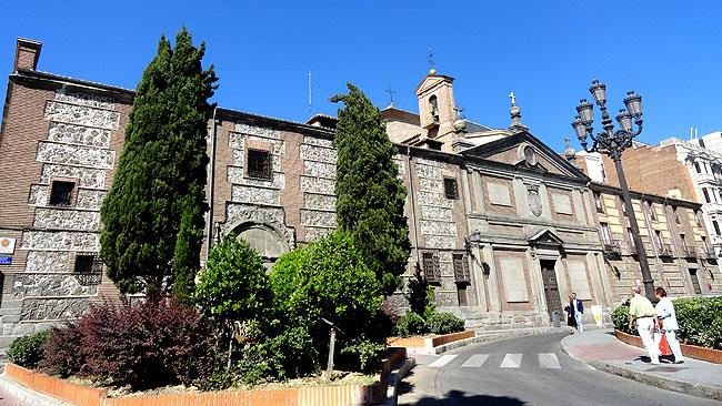 Gran Via Madri  Monasterio  Descalzas Reales
