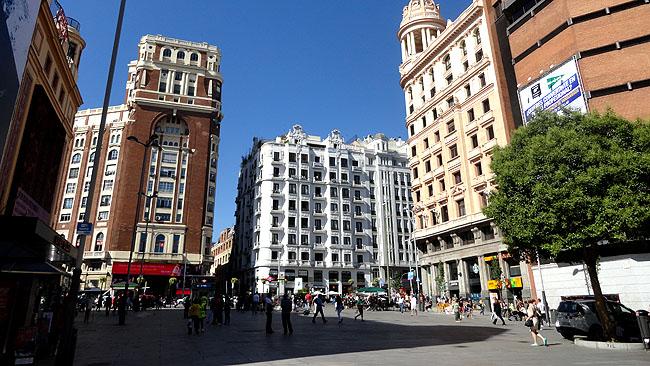 Gran Via Plaza de Callao