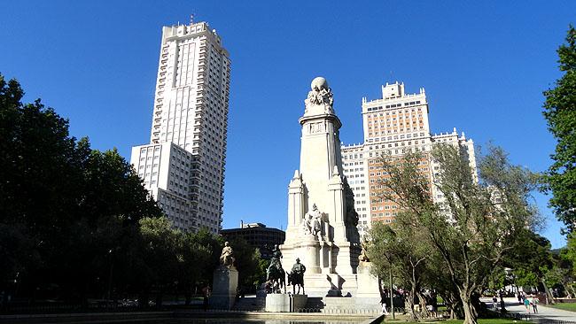 Gran Via Plaza de Espana Madri