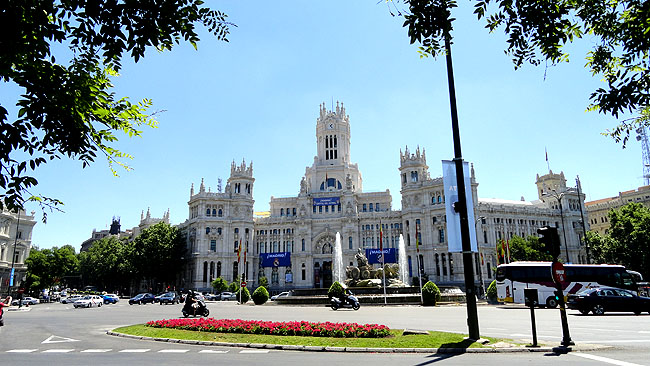 Plaza Cibeles Madri Como chegar