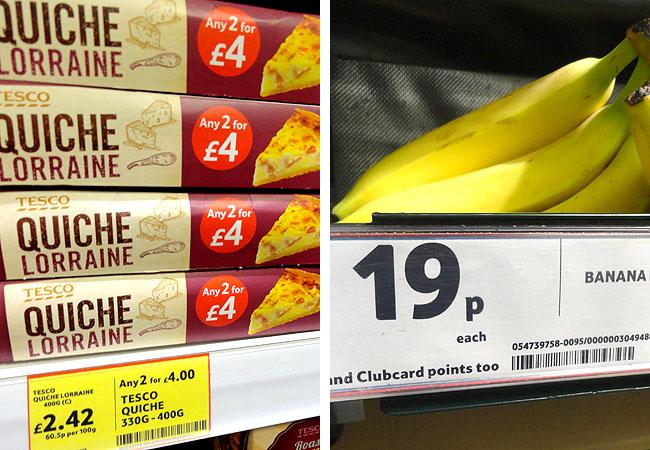 Supermercados em Londres Tesco 4