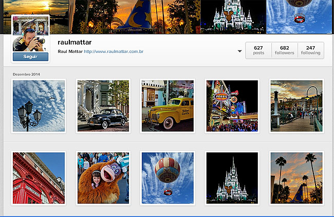 Instagram Raul Mattar