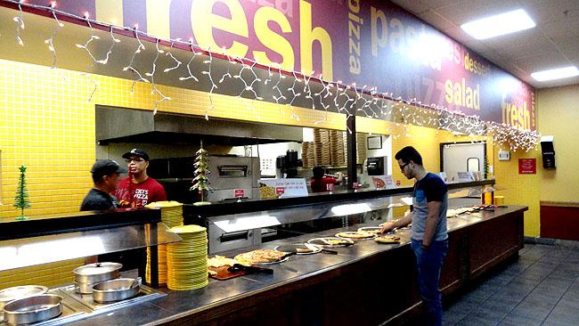 Cicis Pizza Onde comer bem e barato em Orlando Self service 1