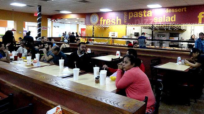 Cicis Pizza Onde comer bem e barato em Orlando Self service 2