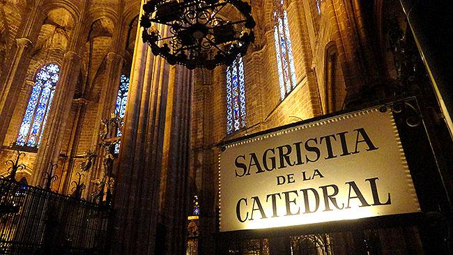 Barcelona catedral horarios