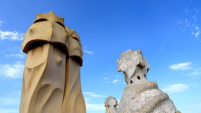 Barcelona pontos turisticos  Casa Mila la Pedrera