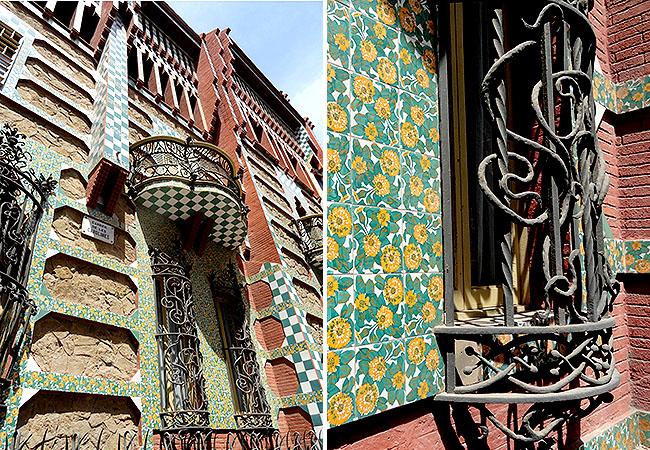Barcelona pontos turisticos  Casa Vincens