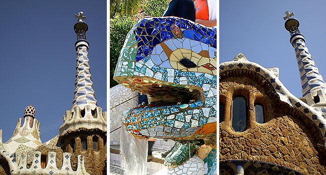Barcelona pontos turisticos Parc Guell