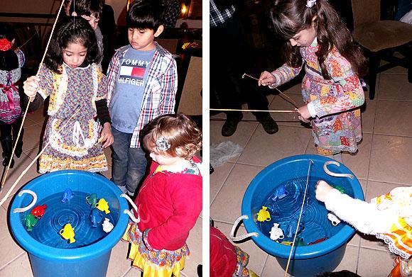 Festa Junina Infantil pescaria