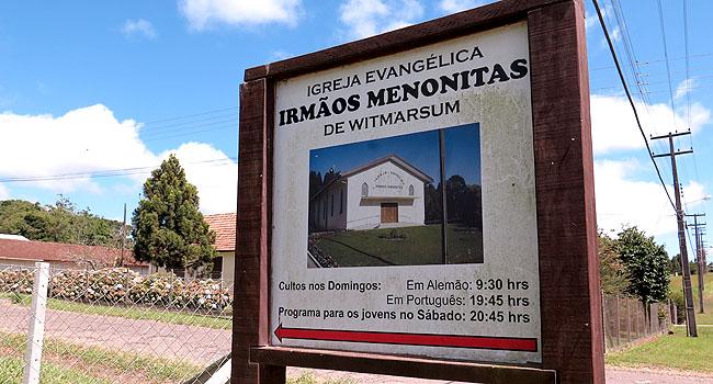 Colonia Witmarsum Igreja Menonita
