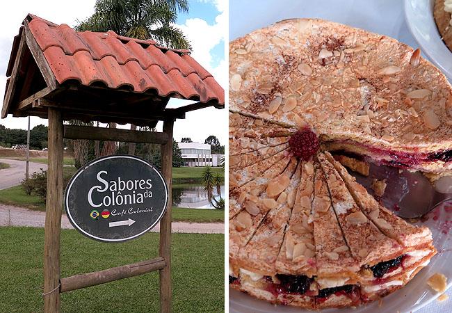 Colonia Witmarsum Sabores da Colonia Cafe Colonial