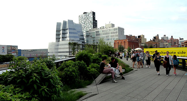 Nova York Highline Park Chelsea