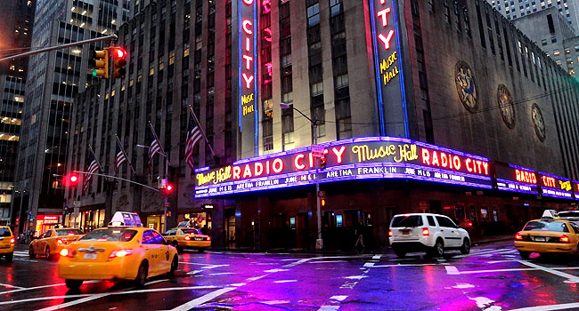 Nova York Radio City Hall