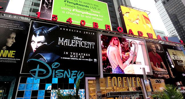 Nova York Times Sqaure Broadway