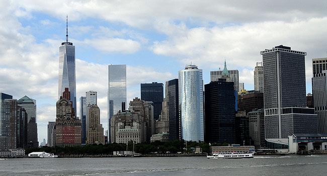Nova York Vista Manhattan Passeio State Island