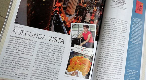 Estamos na Revista TAM de abril! \0/