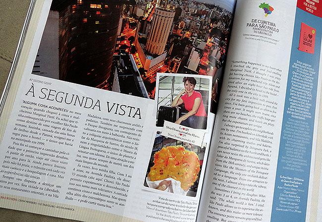 Revista TAm Matraqueando Silvia Oliveira