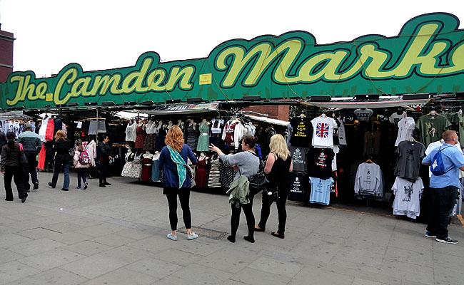 Camden Market Londres preços