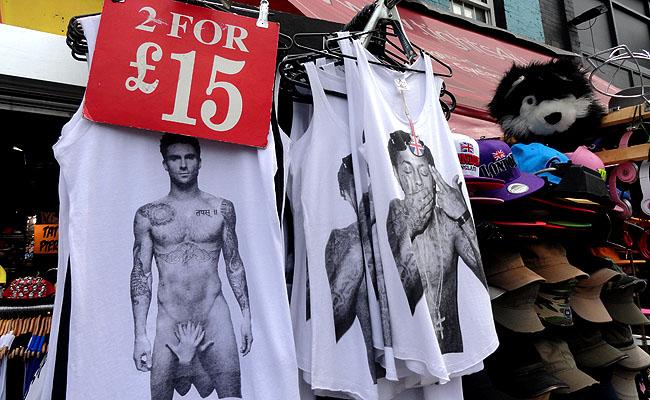 Camden Market Londres roupas