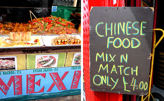 Camden Market london food