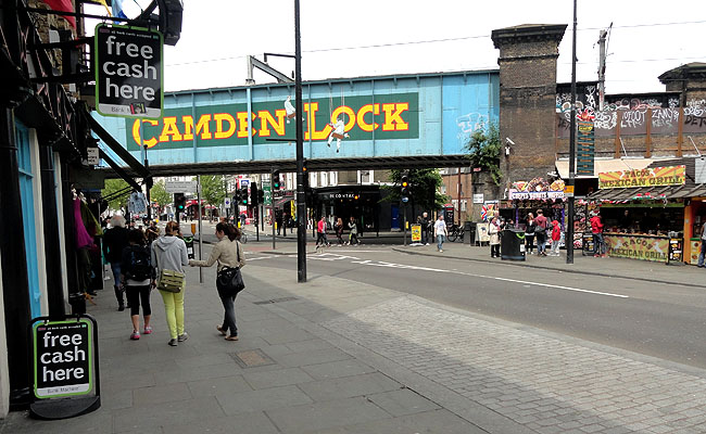 Camden Market london openig time