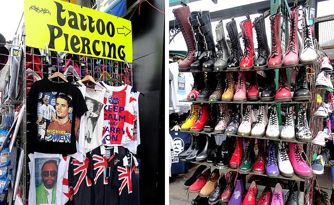 Camden Market roupas