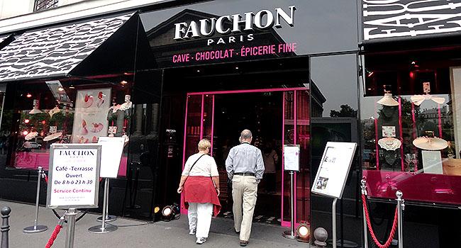 Fauchon Paris Fachada