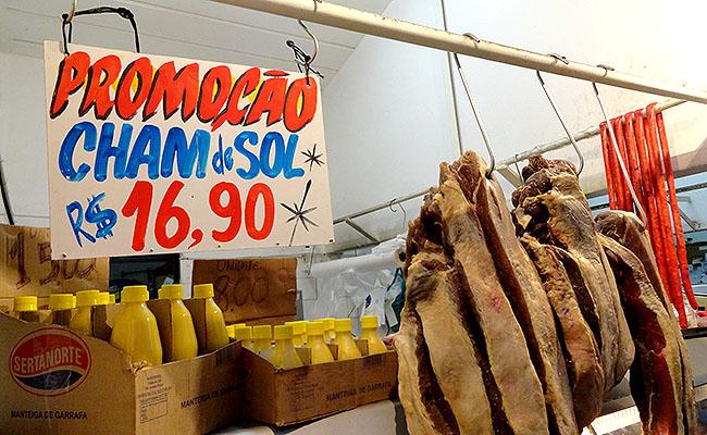 Feira de Sao Cristovao Carne de Sol