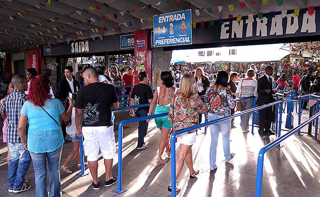 Feira de Sao Cristovao Entrada