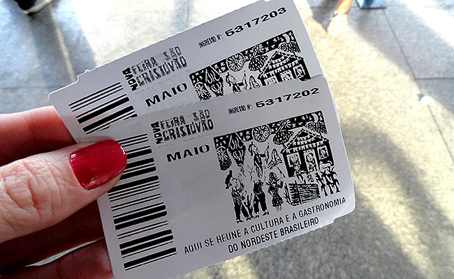 Feira de Sao Cristovao preco