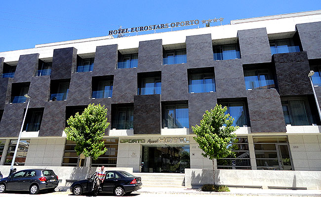 Hotel Eurostars Oporto Fachada