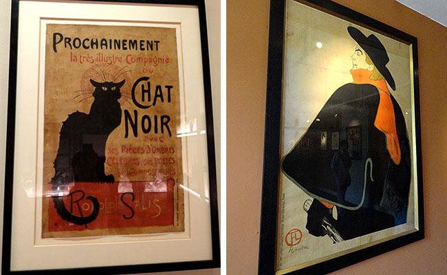 Museu Montmartre Paris  Chat Noir