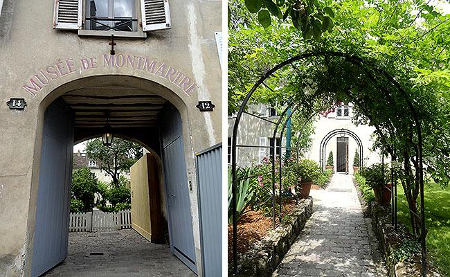 Museu Montmartre Paris Entrada