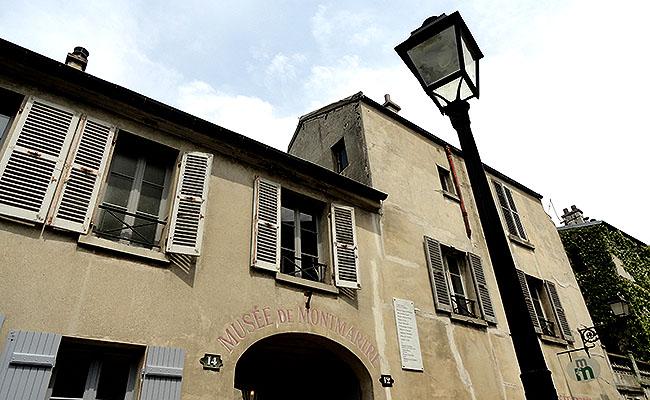 Museu Montmartre Paris Fachada
