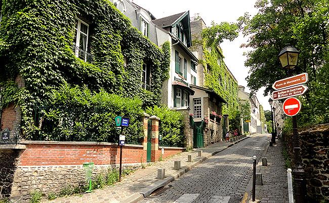 Museu Montmartre Paris Rua