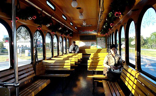Orlando sem carro I Ride Trolley Estados Unidos