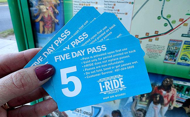 Orlando sem carro I Ride Trolley pass