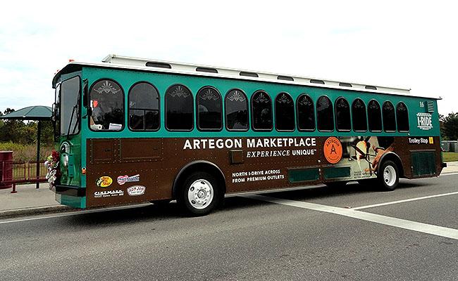 Orlando sem carro I Ride Trolley