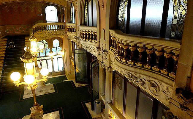 Palau Musica Catalana arquitetura