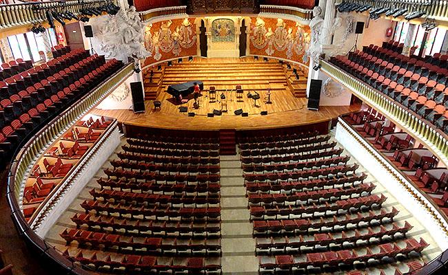 Palau Musica Catalana concertos