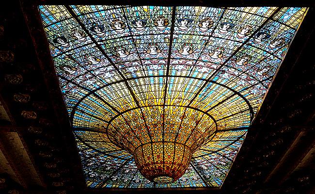 Palau Musica Catalana lustre central