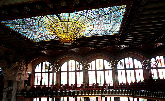 Palau Musica Catalana lustre
