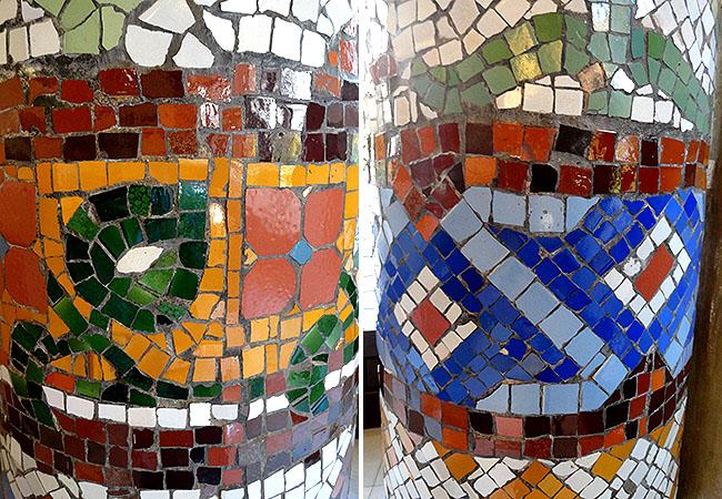 Palau Musica Catalana mosaico