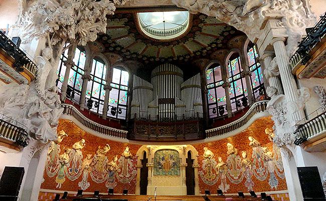 Palau Musica Catalana  sala de concertos