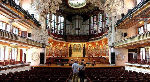 Barcelona | Palau de la Música Catalana: a única sala de concertos modernista Patrimônio da Humanidade