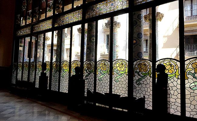 Palau Musica Catalana vitrais