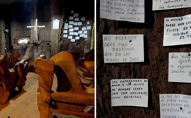la aripuca puerto iguazu igrejinha capilla