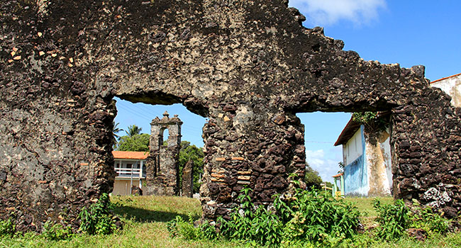 Ilha de Marajo Ruinas Joanes